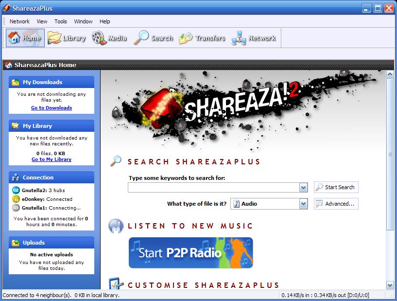 uninstall Shareaza as soon as possible