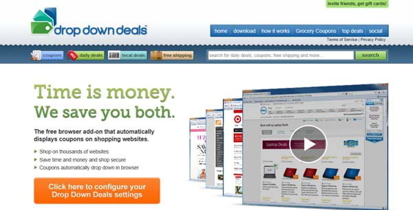 dropdowndeals add-on
