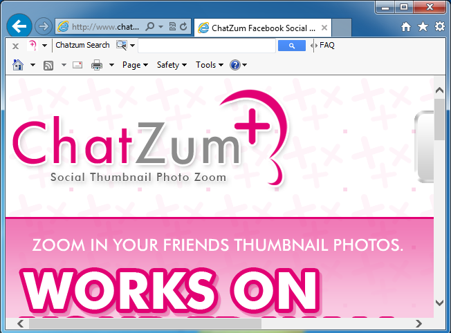 How to uninstall (remove) ChatZum Toolbar