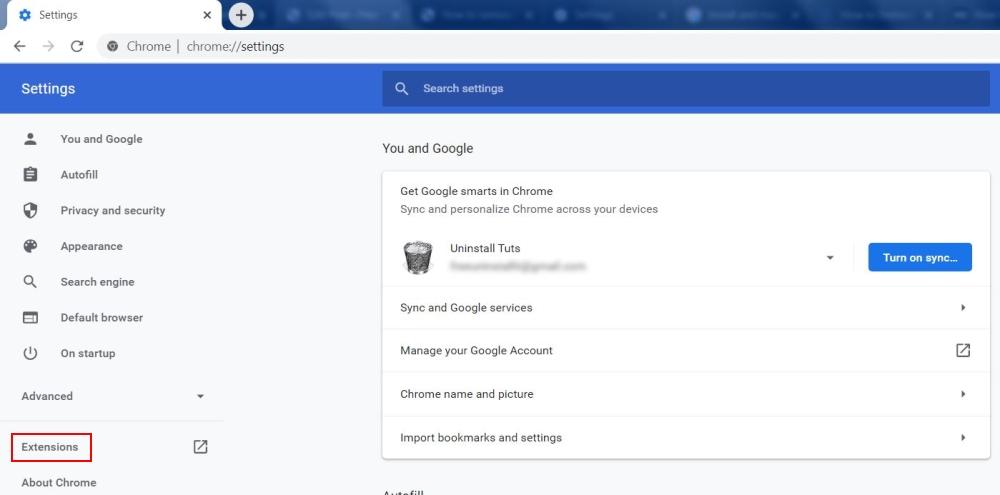 Udvidelser til Google Chrome