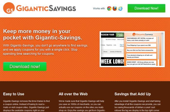 gigantic savings