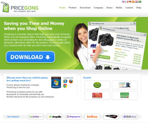 pricegong ads