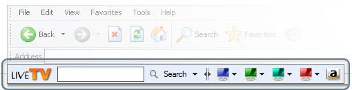 livetv toolbar
