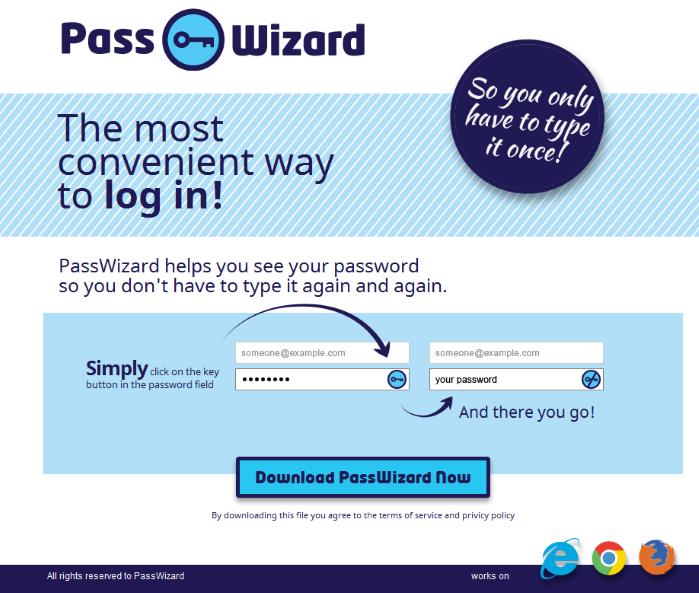 passwizard ads