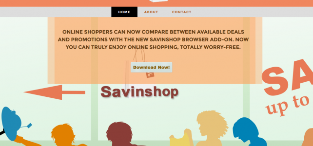 How to uninstall (remove) SavinShop
