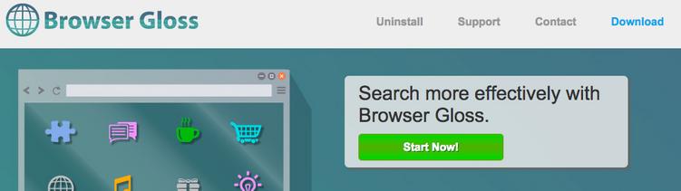 Browser Gloss Ads