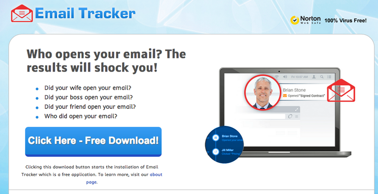 Email Tracker Ads
