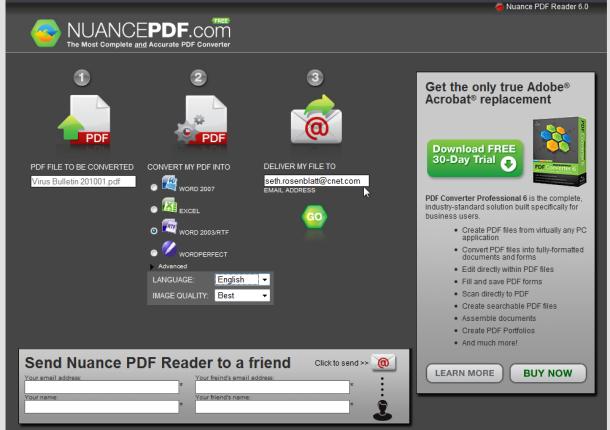 nuance pdf reader
