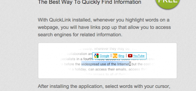 How to uninstall (remove) QuickLink