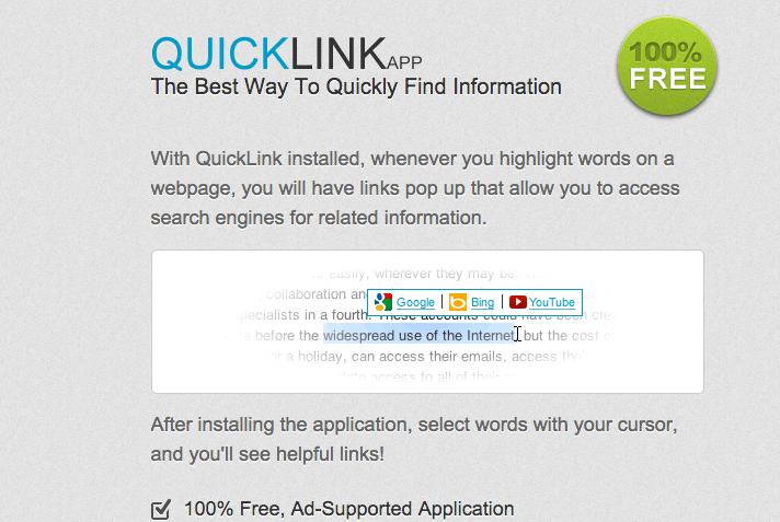 QuickLink Ads