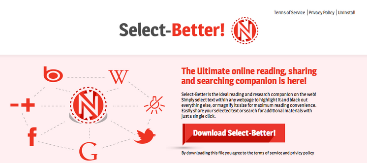 Select-Better ads