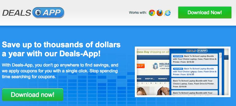 Deals App Ads