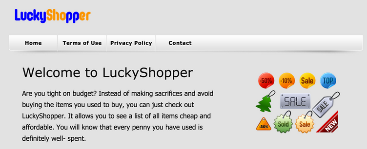 Ads by LuckyShopper