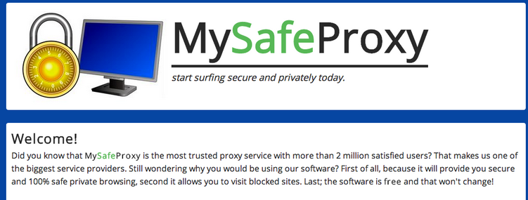 Ads by MySafeProxy