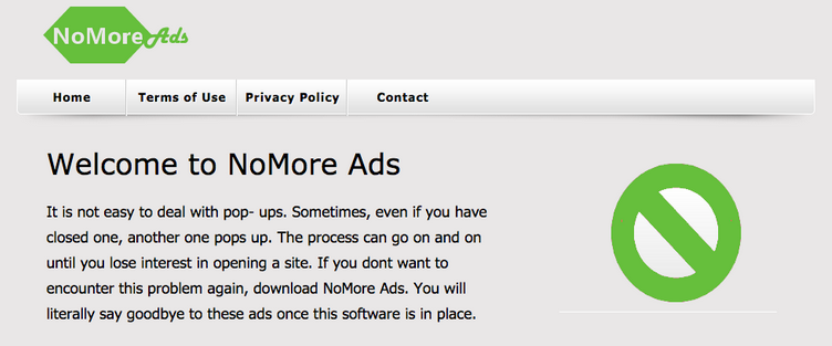 Ads by NoMore Ads