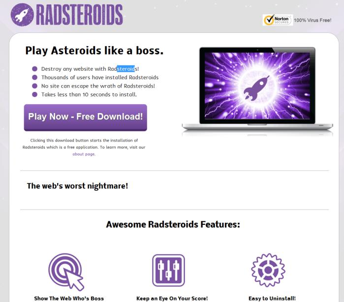 Remove Radsteroids
