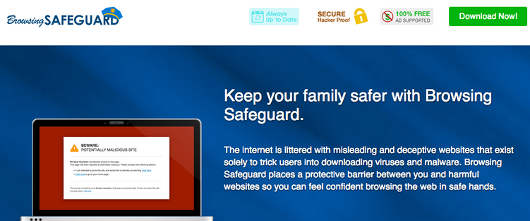 Ads by Browsing Safeguard