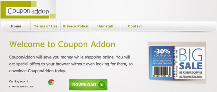 Coupon Addon Ads