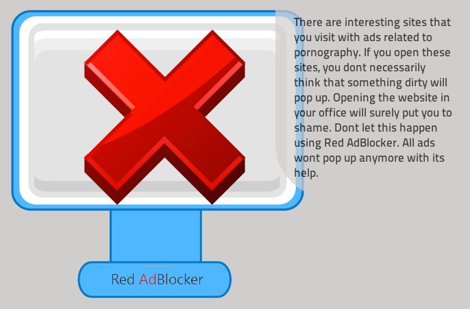 Ads by Red AdBlocker