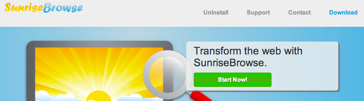 SunriseBrowse Ads