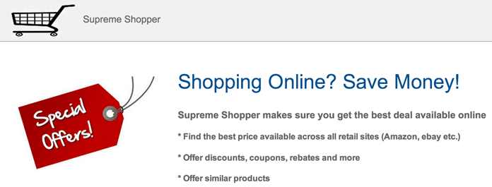 Supreme Shopper Ads