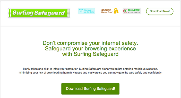 Surfing Safeguard Ads