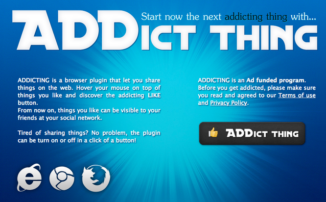 Addict Thing Ads