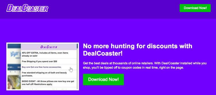 DealCoaster Ads