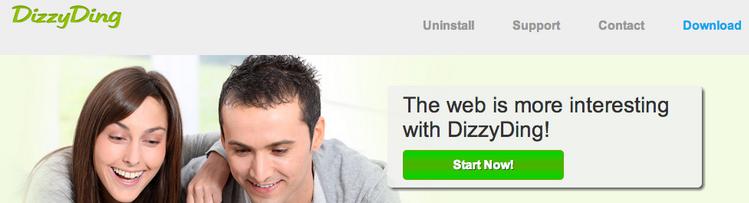 DizzyDing Ads