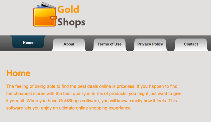 GoldShops Ads