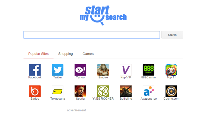 remove Mystartsearch.com