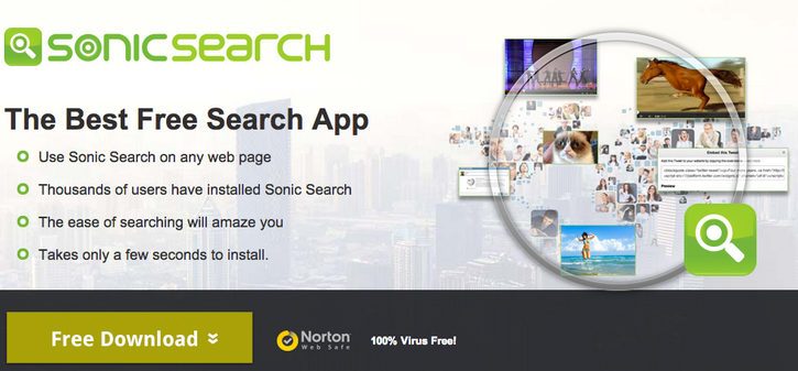 Sonic Search ads