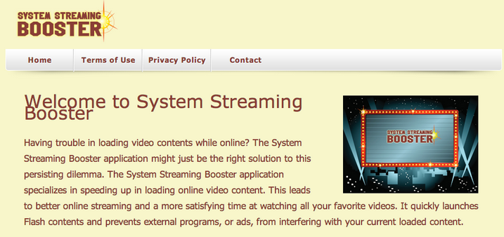 System Streaming Booster Ads