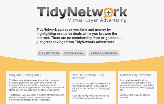 remove Tidy Network