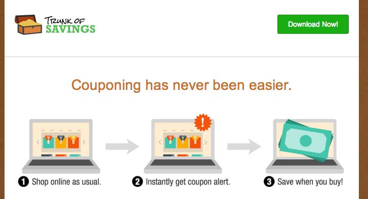 Trunk of Savings Ads