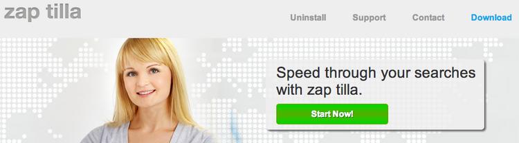 Zap Tilla Ads