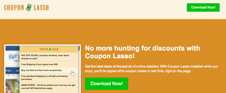 Ads by Coupon Lasso