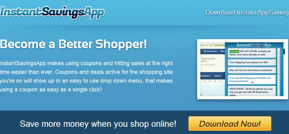 Instant Savings App Ads