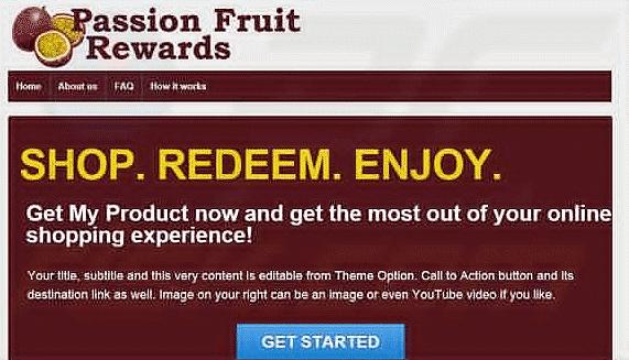 Passion Fruit Rewards Ads