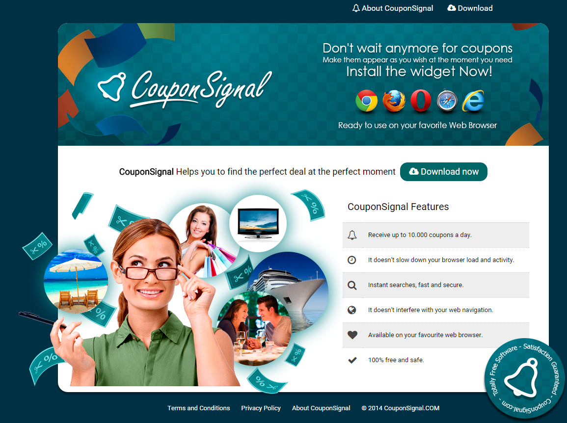 CouponSignal ads