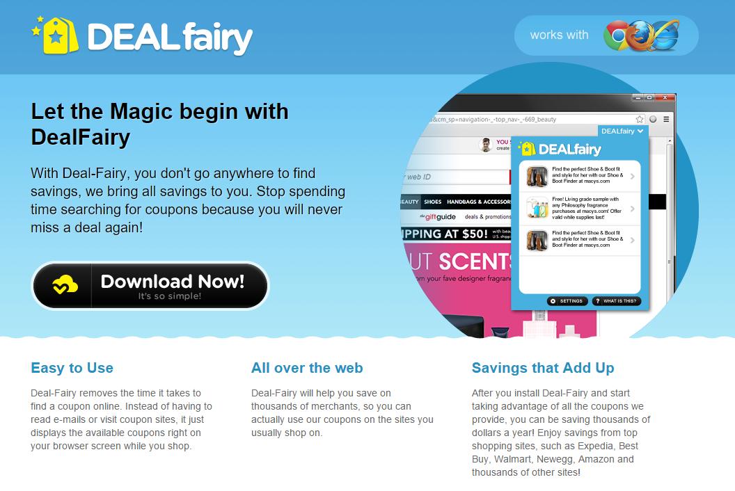 Deal Fairy ads