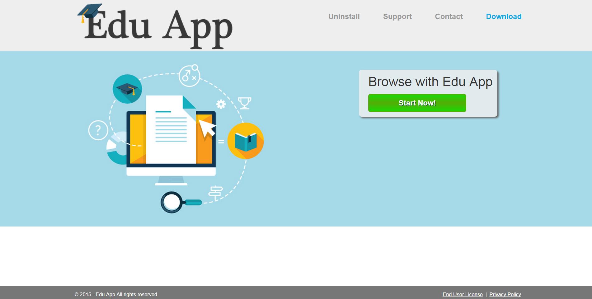 Edu App ads