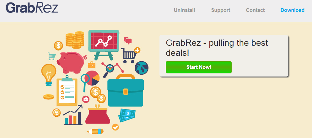 GrabRez ads