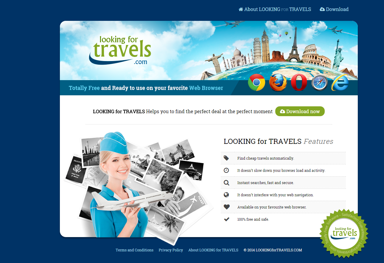 Looking For Travels ads