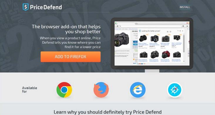 Price Defend ads