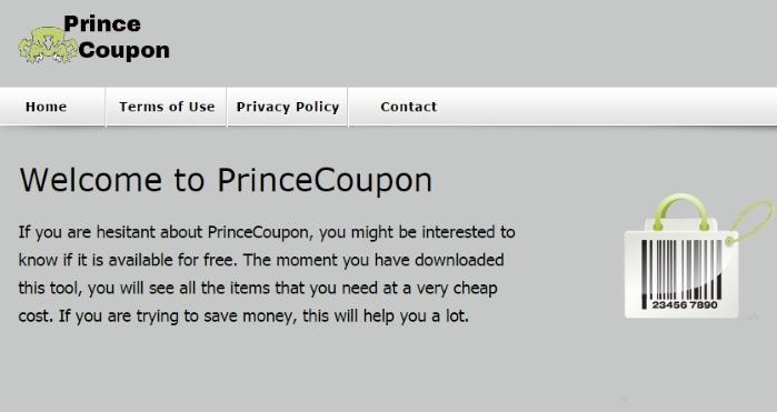 PrinceCoupon ads