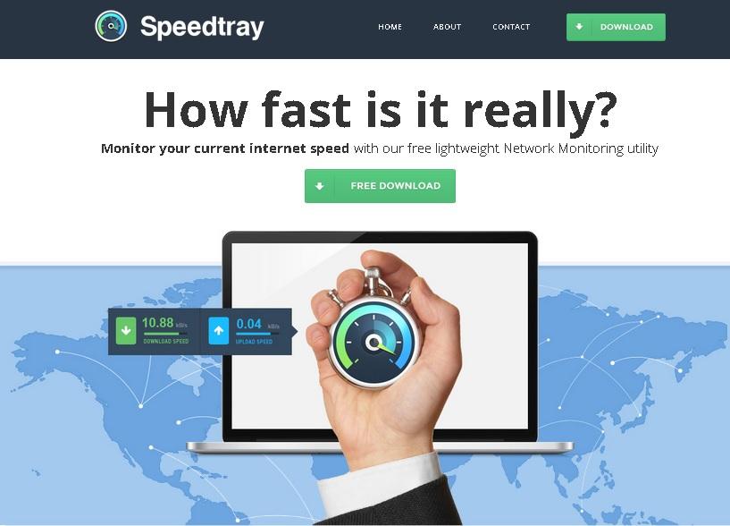 SpeedTray ads