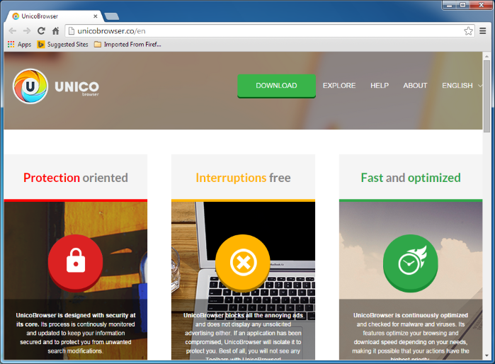 unico browser