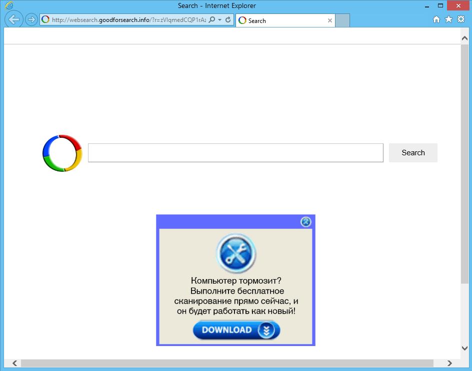 websearch.goodforsearch.info hijacker