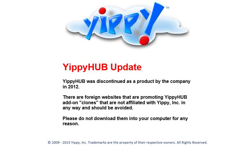 YippyHUB ads